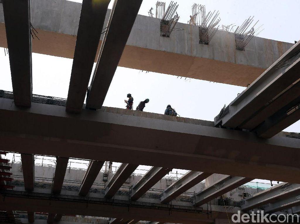 Sederet Permasalahan Lahan Ganjal Proyek LRT Jabodebek