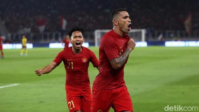 Timnas Indonesia menjadi underdog saat menjamu Vietnam di kualifikasi Piala Dunia 2022. (Foto: Agung Pambudhhy/detikcom)