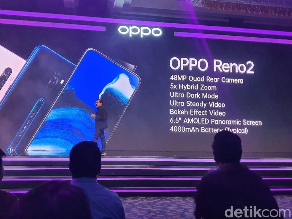 Resmi Dirilis, Ini Harga Oppo Reno2 dan Reno2 F di Indonesia