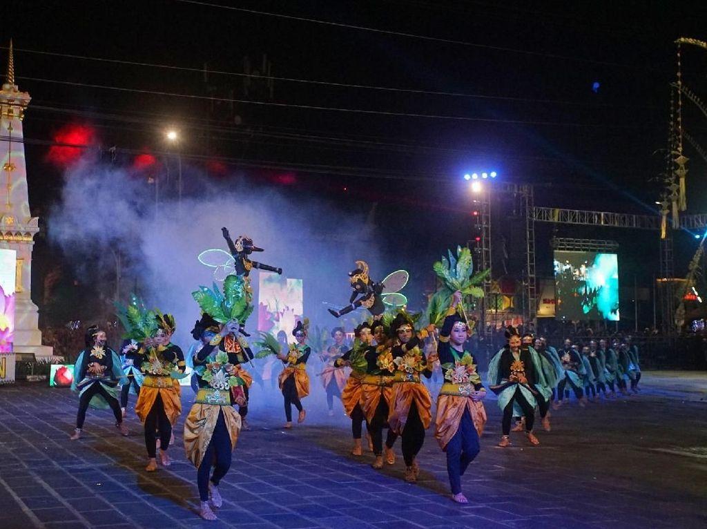 Kemeriahan Wayang Jogja Night Carnival