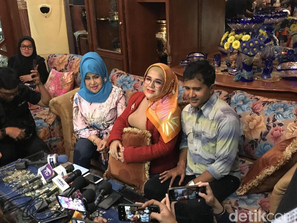 Suami Ditangkap Nyabu Lagi, Dhawiya Lemas dan Shock