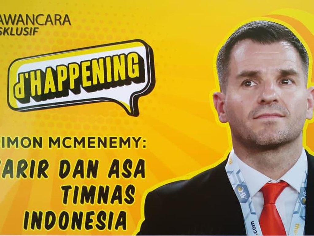 Sebentar Lagi! Interview Eksklusif Simon McMenemy