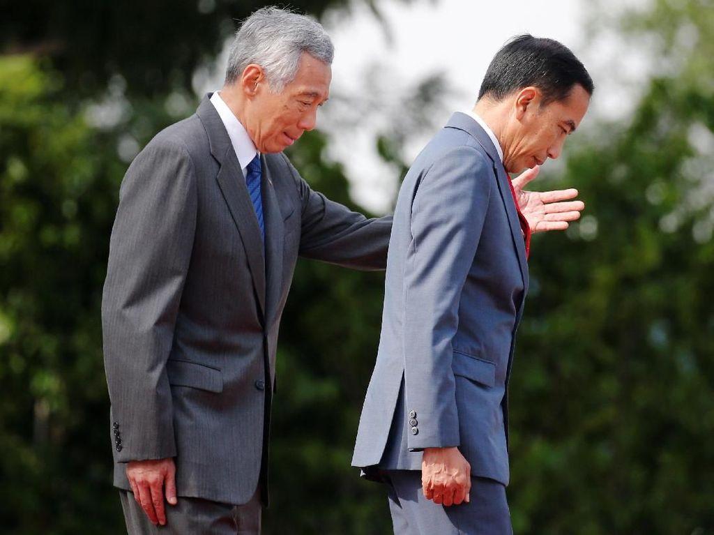 Bertemu Jokowi, PM Lee: Hubungan Singapura-RI dalam Kondisi Baik