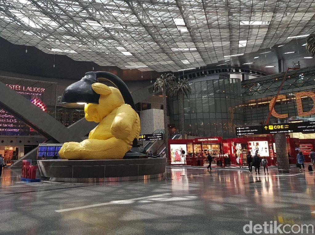 Melihat Megahnya Bandara Internasional Hamad di Qatar