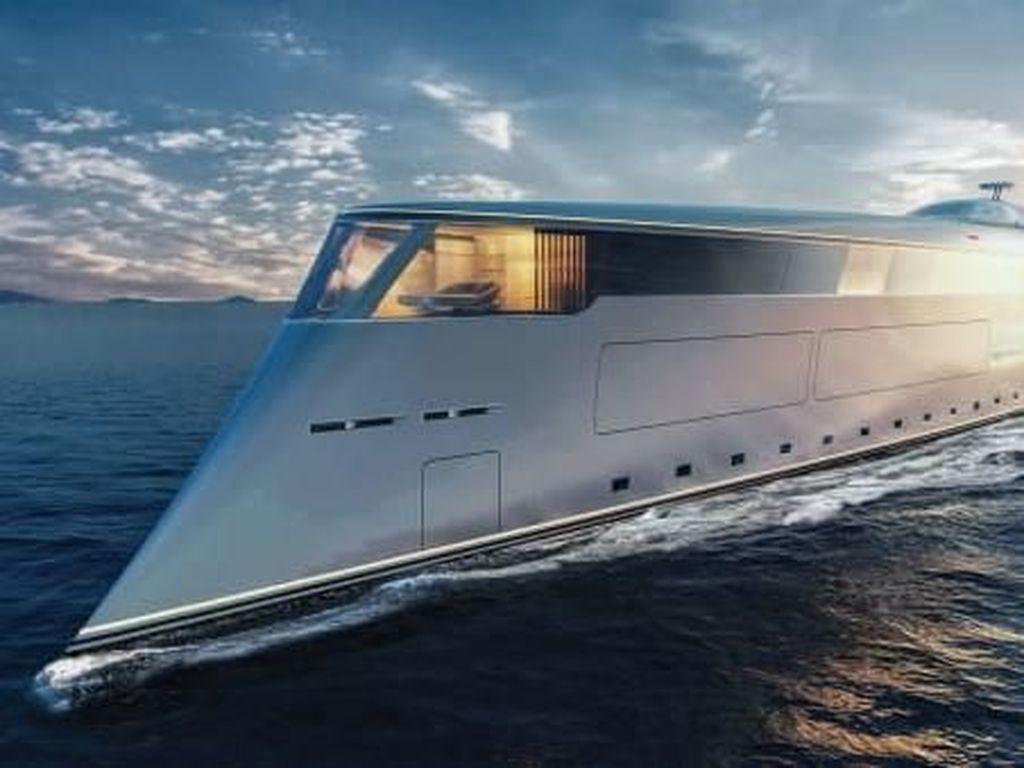 Potret Calon Yacht Pertama Bertenaga Hidrogen