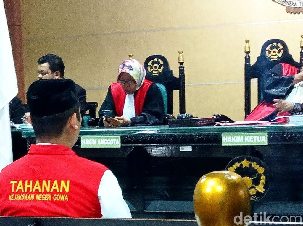 Dosen UNM Pembunuh Siti Zulaiha Dituntut 14 Tahun Penjara