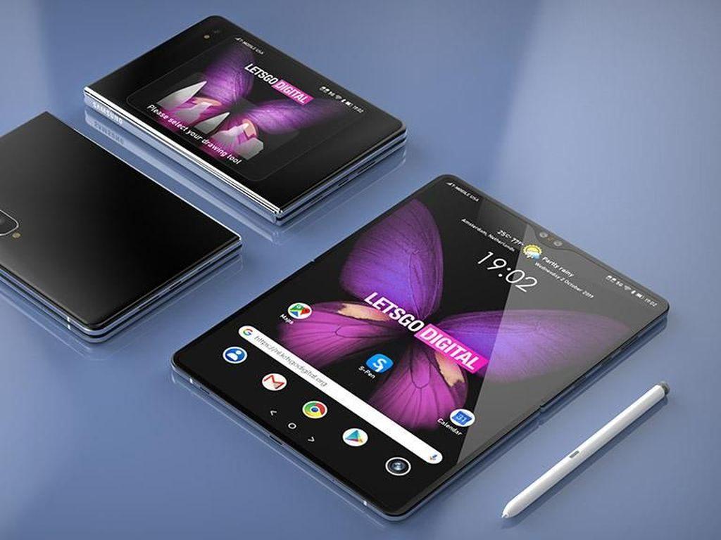 Galaxy Note dan Fold Bakal Menyatu, Samsung?