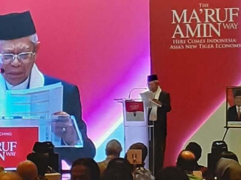 Buku The Maruf Amin Way Diluncurkan