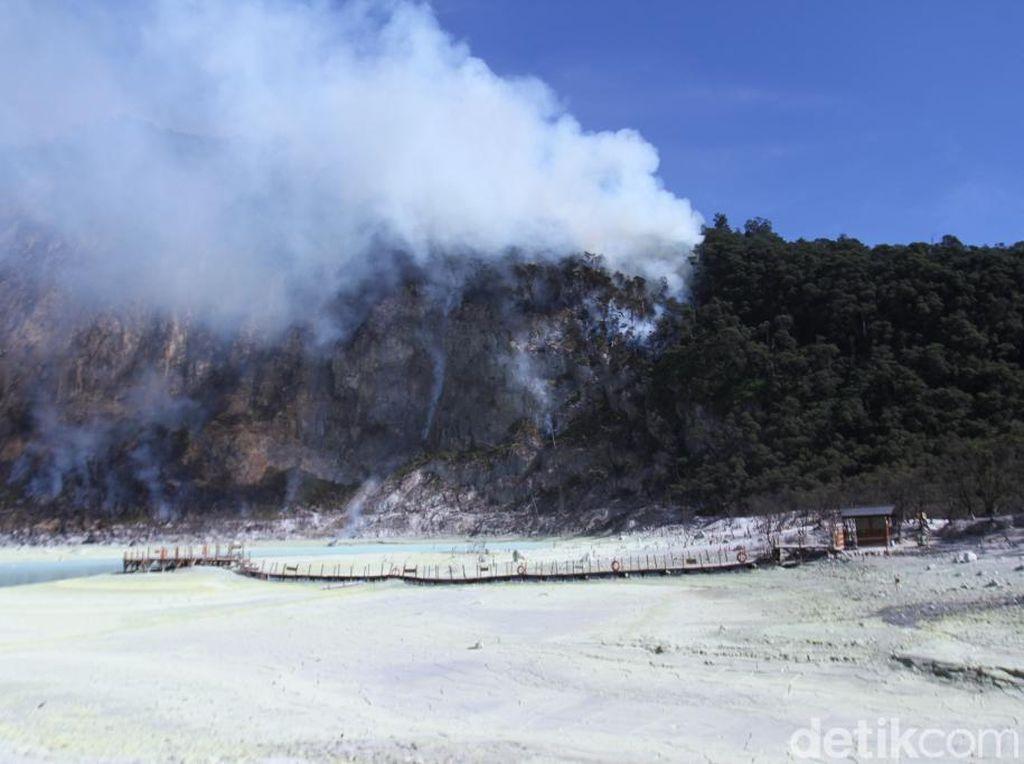 Sempat Ditutup, Wisata Kawah Putih Bandung Kembali Dibuka Besok