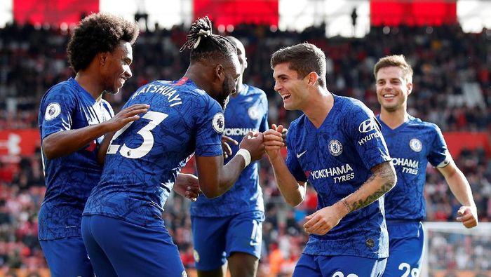 Chelsea menjamu Newcastle United dalam lanjutan Liga Inggris. (Foto: David Klein/Reuters)