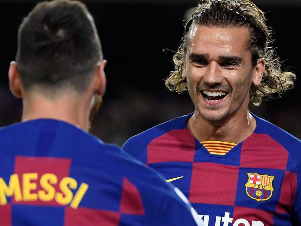 Messi ke Griezmann: Gabung Barcelona Memang Tidak Mudah