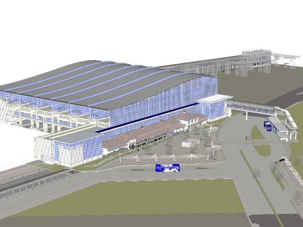 Gantikan Gambir di 2021, Stasiun Manggarai Jadi 3 Tingkat