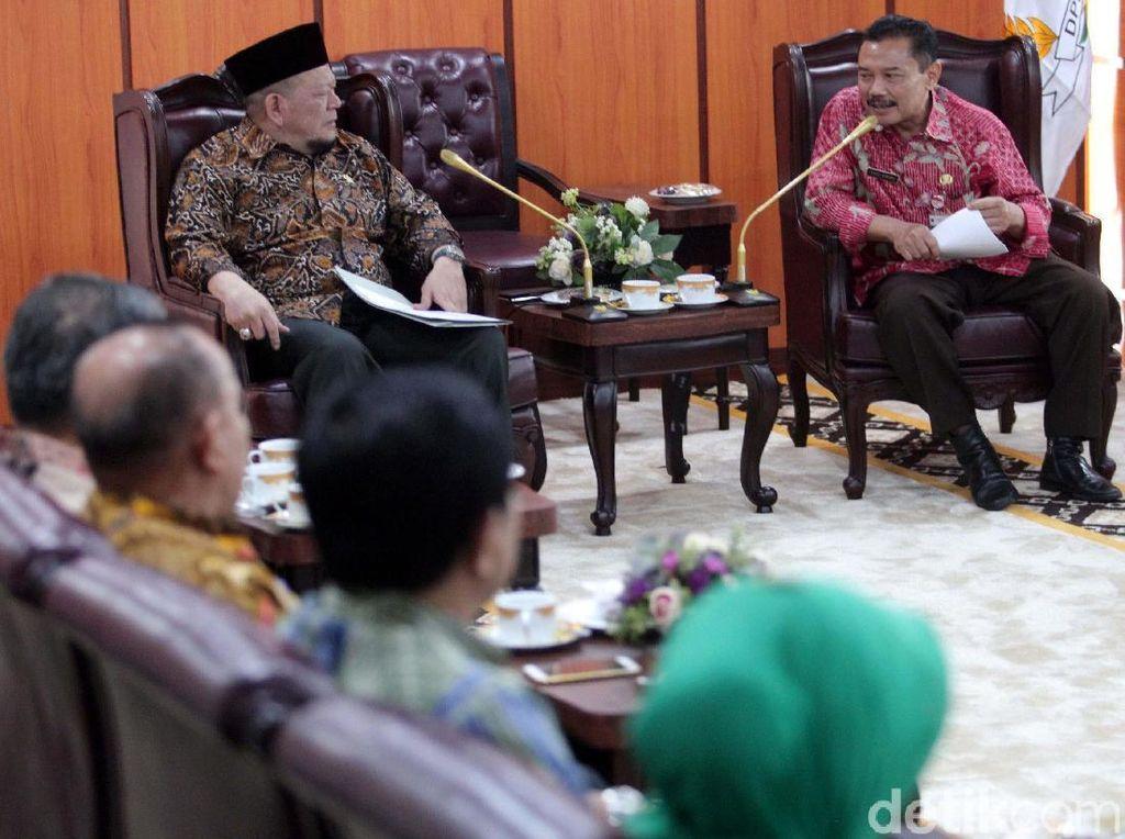 Ketua DPD Terima Forum Staf Ahli Kepala Daerah