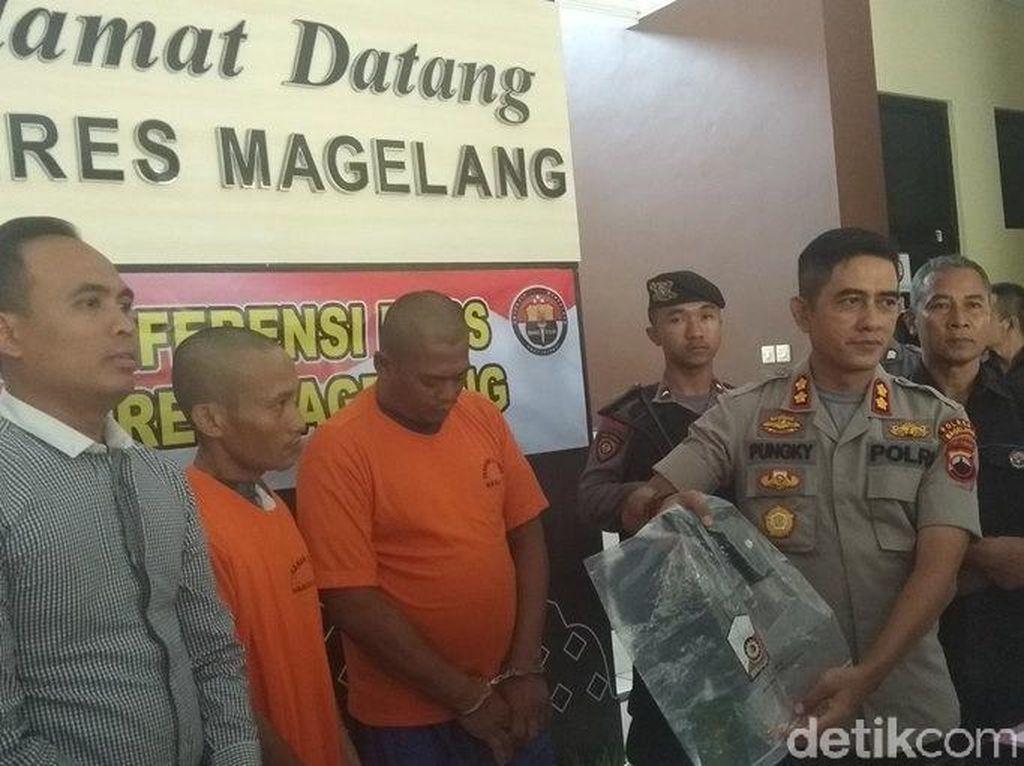 Tembak Warga Pakai Airsoft Gun di Magelang, 2 Pria Ditangkap Polisi