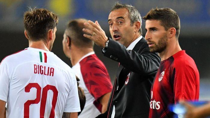 AC Milan memecat Marco Giampaolo setelah empat bulan pengangkatannya. (Foto: Alessandro Sabattini/Getty Images)