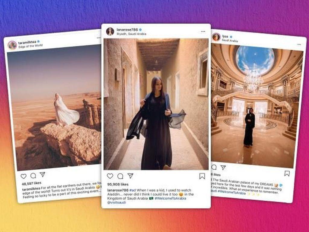 Influencer Ramai Promosi Arab Saudi, Tuai Pro Kontra