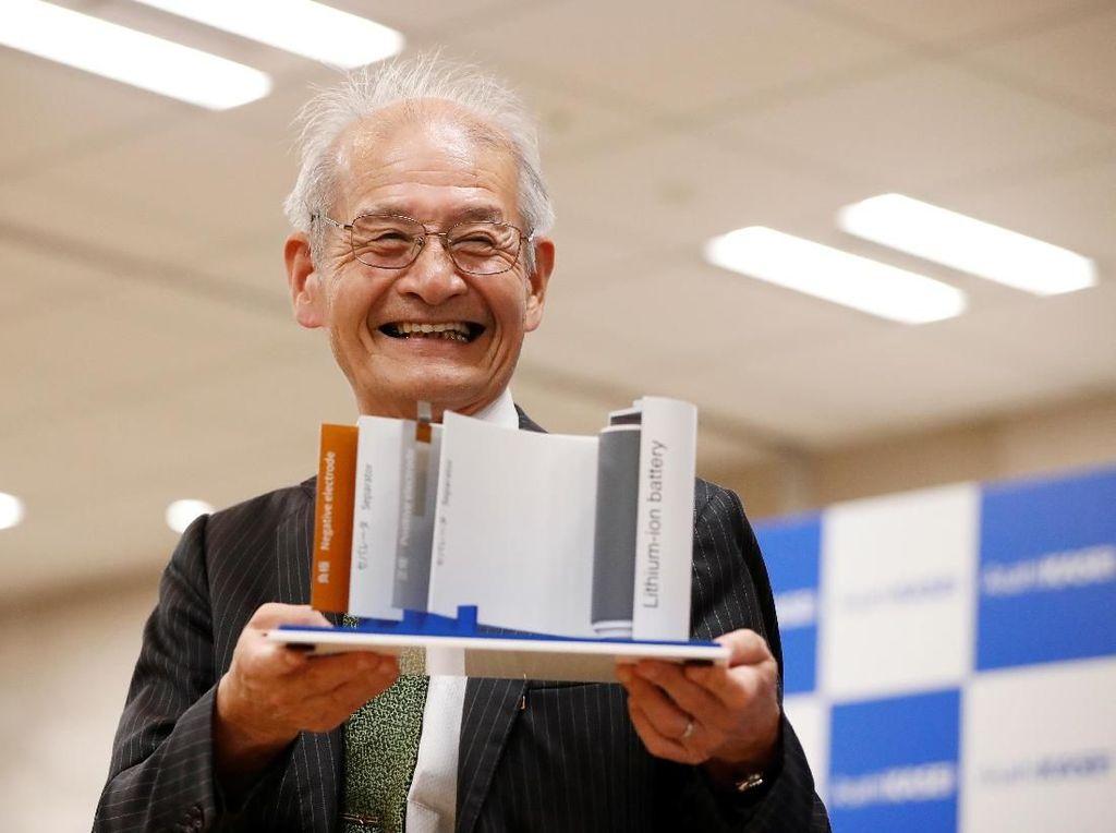 3 Penemu Baterai Lithium Ion Gaet Nobel Kimia