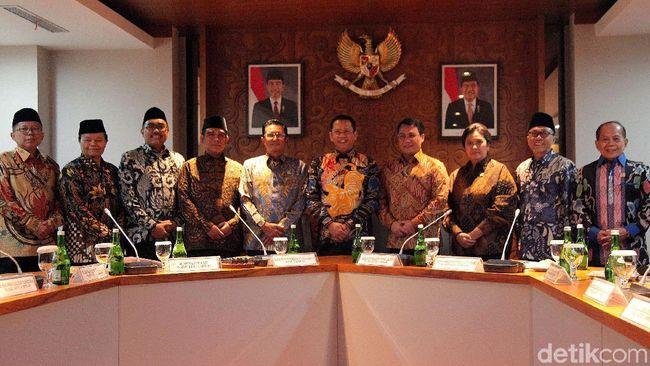 Ini Hasil Rapat Perdana Pimpinan MPR 2019-2024