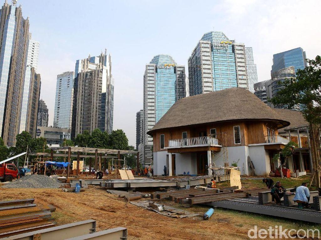 Melihat Progres Renovasi Hutan Kota di Kawasan GBK