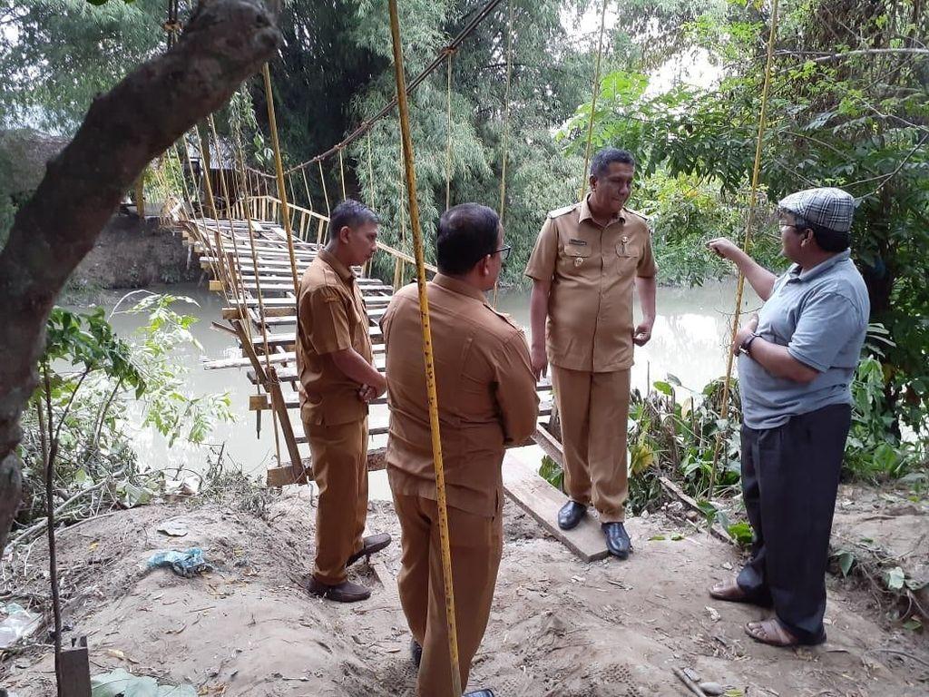 Ombudsman Perkirakan Perbaikan Jembatan Maut di Pidie Selesai 30 Hari