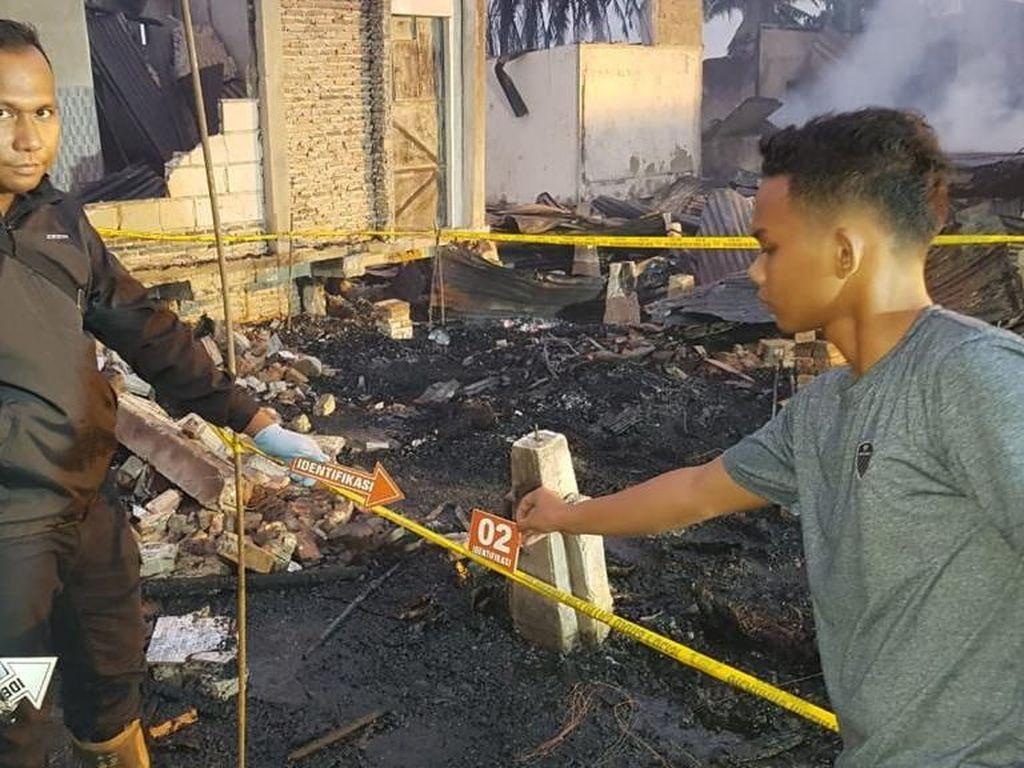 Belasan Rumah di Riau Terbakar, Ibu dan Anak Tewas