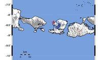 Gempa M 3,9 Terjadi di Lombok