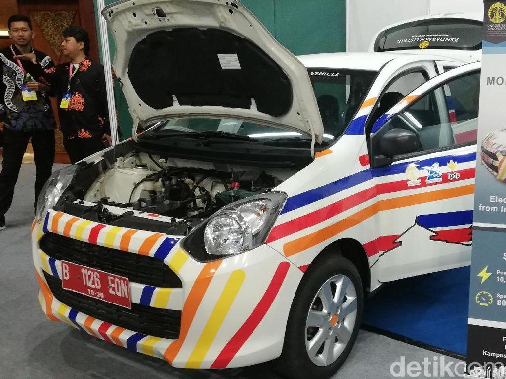 Keren, UI Ubah Daihatsu Ayla Jadi Mobil Listrik