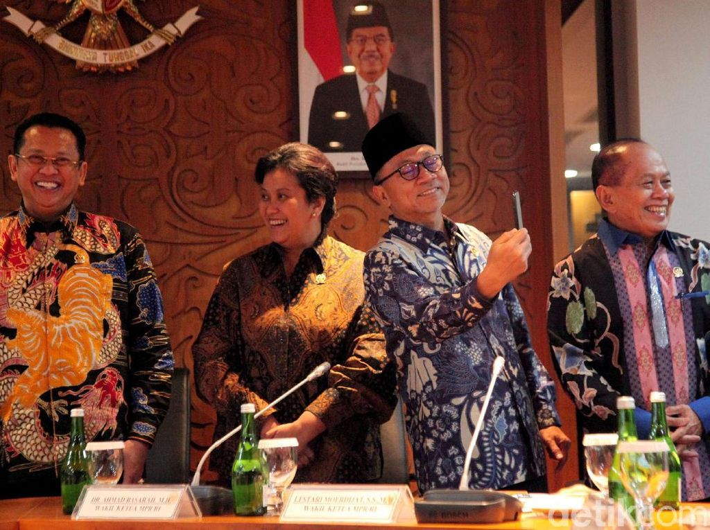 MPR Pastikan Insiden Penusukan Wiranto tak Ganggu Pelantikan Presiden