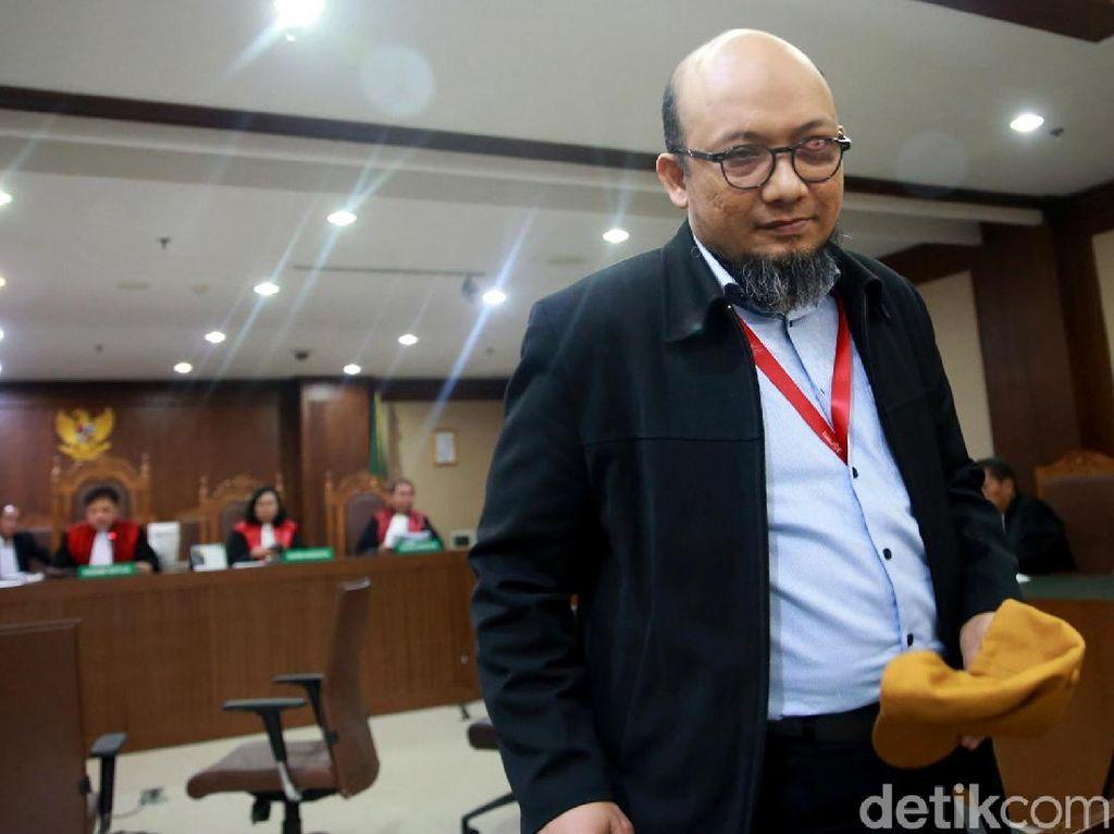 Novel Baswedan Bersaksi untuk Markus Nari di Kasus e-KTP