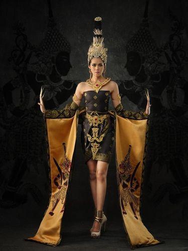 Jadi Wayang, Ratu Kecantikan Malaysia Dituduh Lagi Contek Budaya Indonesia