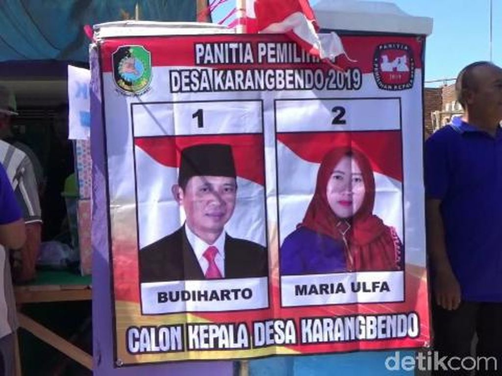 Di Banyuwangi, Suami Istri Ini Bersaing di Pemilihan Kepala Desa