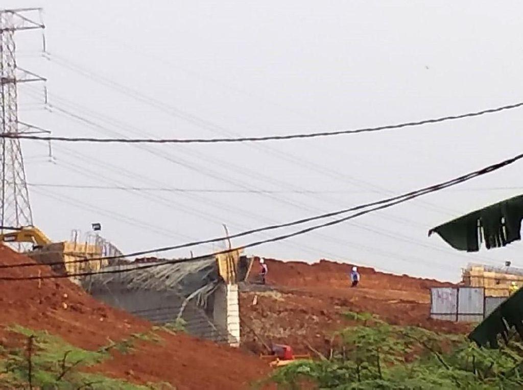 Begini Kondisi Terowongan Ambruk di Proyek Tol Desari