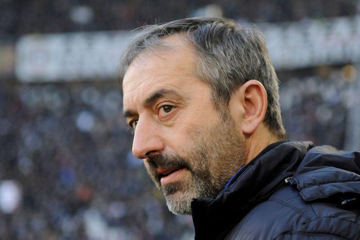Marco Giampaolo menjadi pelatih ke delapan yang harus lengser dari AC Milan di lima tahun terakhir.Foto: Massimo Pinca / Reuters