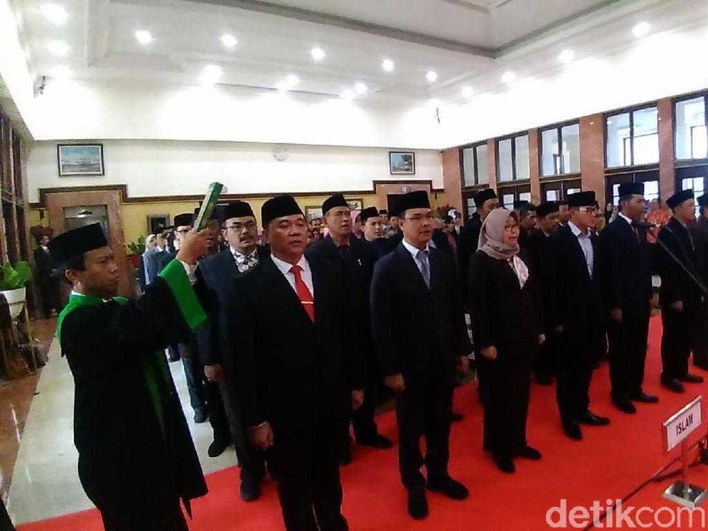 Puluhan Pejabat dan Pegawai di Pemkot Surabaya Dimutasi