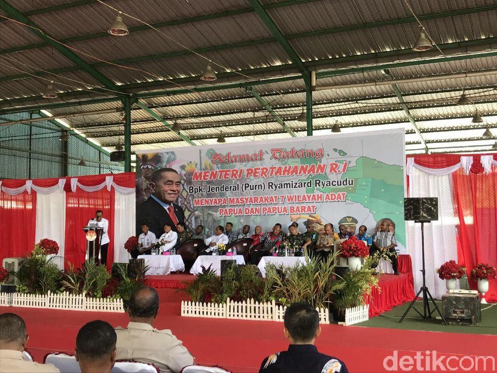Menhan: Papua Bagian NKRI, Tidak Perlu Diperdebatkan Lagi