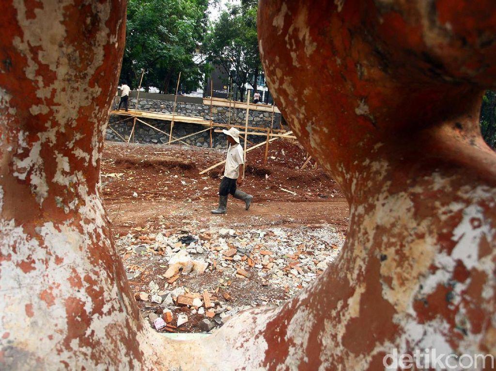 Pemprov DKI Jakarta Revitalisasi Taman Puring