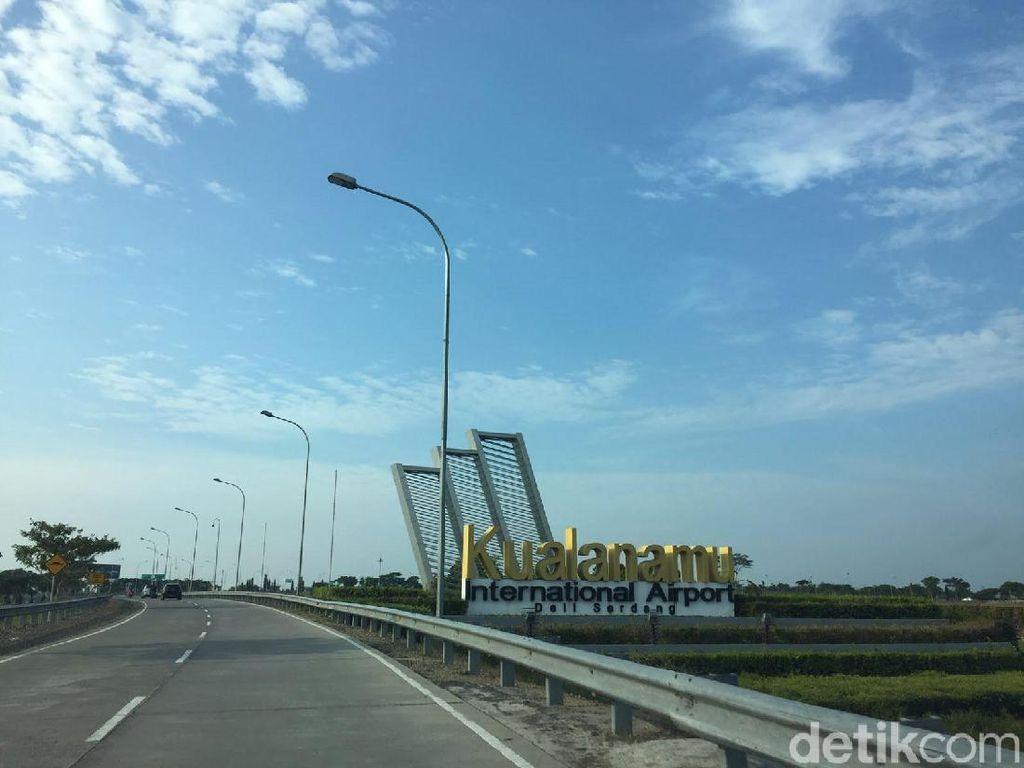 Cegah Virus Corona, Kualanamu Setop Sementara Penerbangan Rute Wuhan China