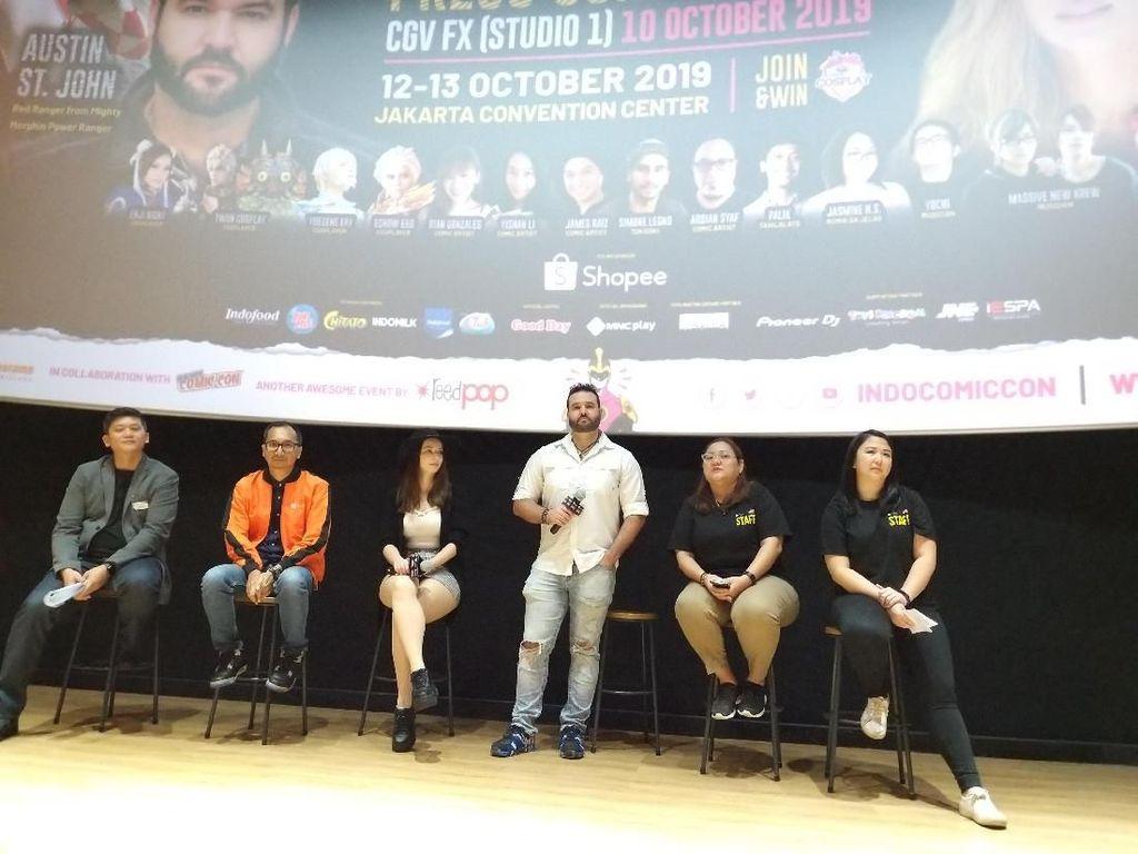 Terminator hingga Cosplay, Spesial Ada di Indonesia Comic Con 2019