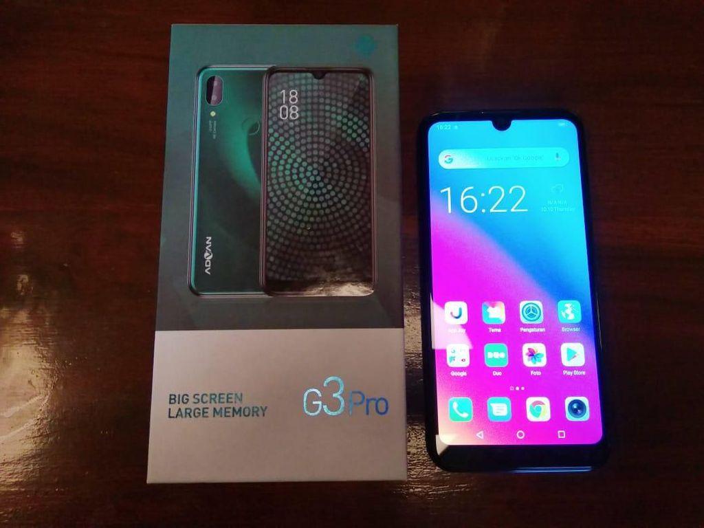 Advan G3 Pro, Smartphone Rp 1 Jutaan dengan Fitur Premium