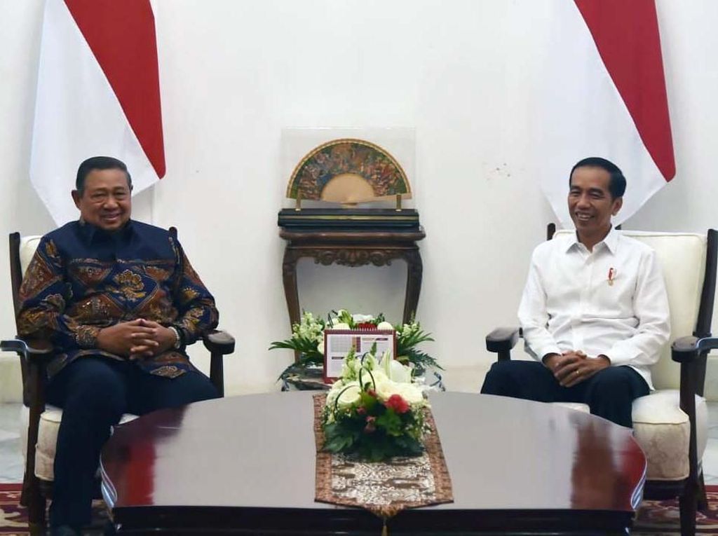 Jokowi-SBY Bahas Politik hingga Ekonomi di Istana