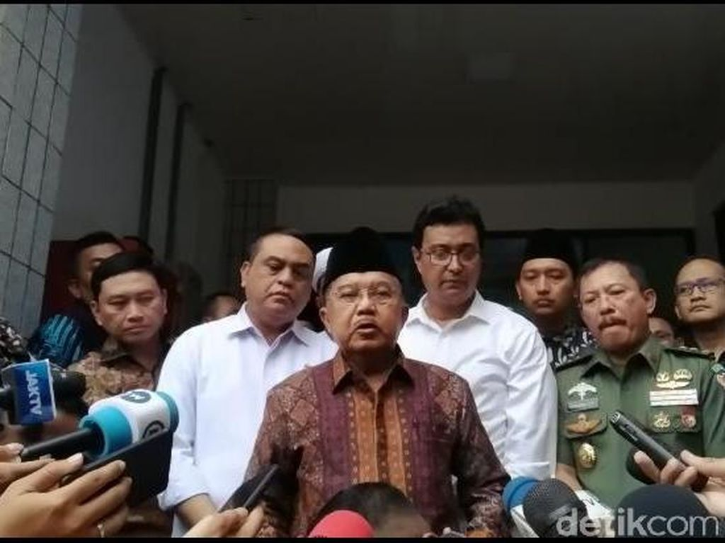 Wiranto Ditusuk, JK: Kelompok Radikal Masih Berkeliaran di Indonesia