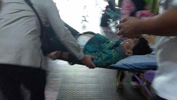 Wiranto pasca-penusukan di Pandeglang, Banten