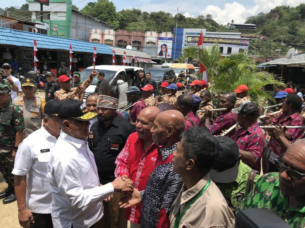 Awali Kegiatan di Papua, Menhan Temui Masyarakat Adat di Jayapura
