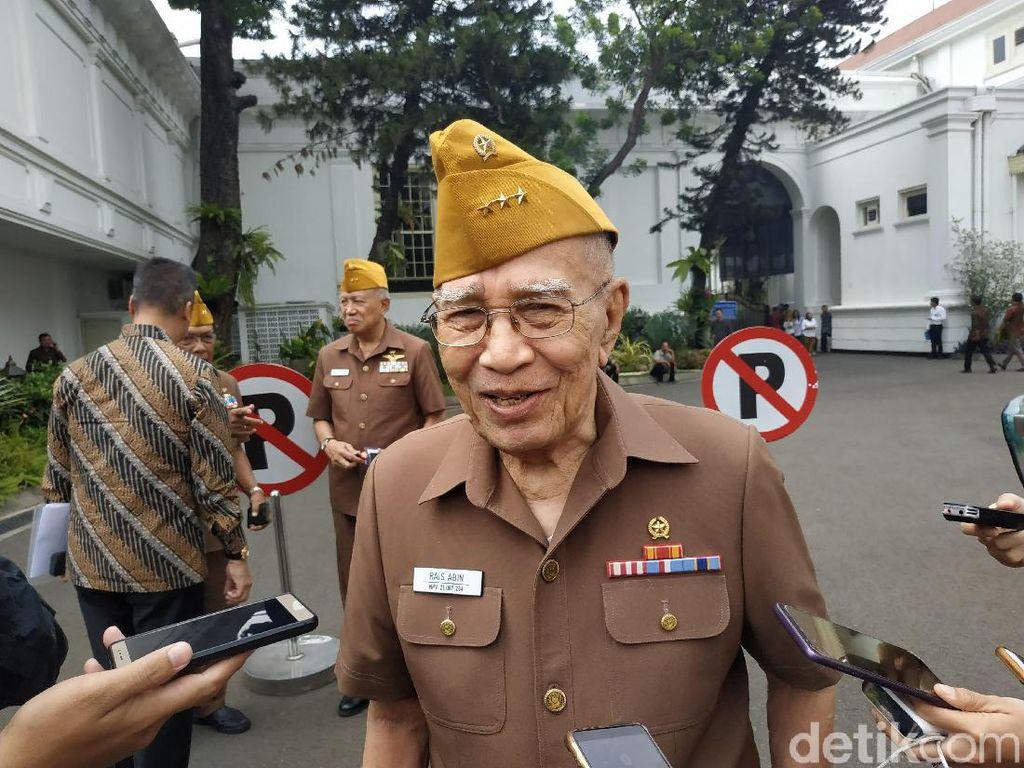 Akan Ganti Ketum, Legiun Veteran RI Bertemu Jokowi