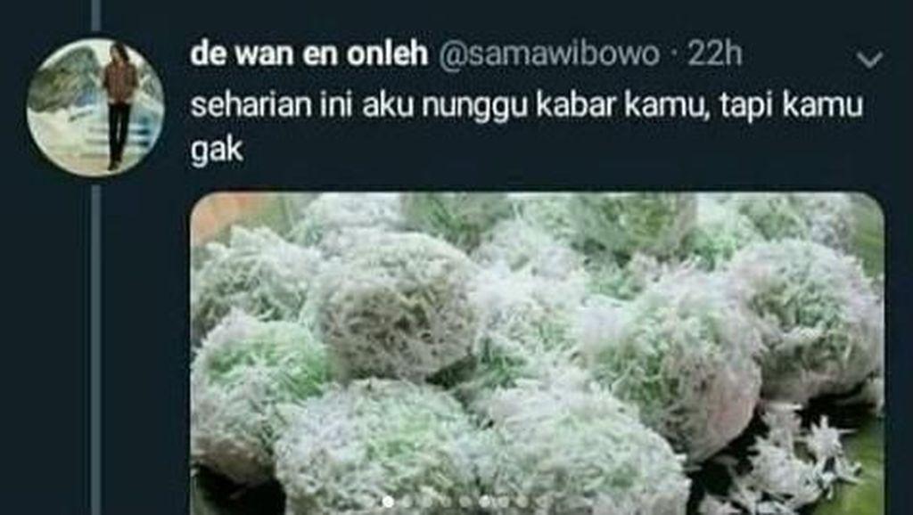 Kocak! Meme Jajanan Kampung Ini Karya dari Netizen