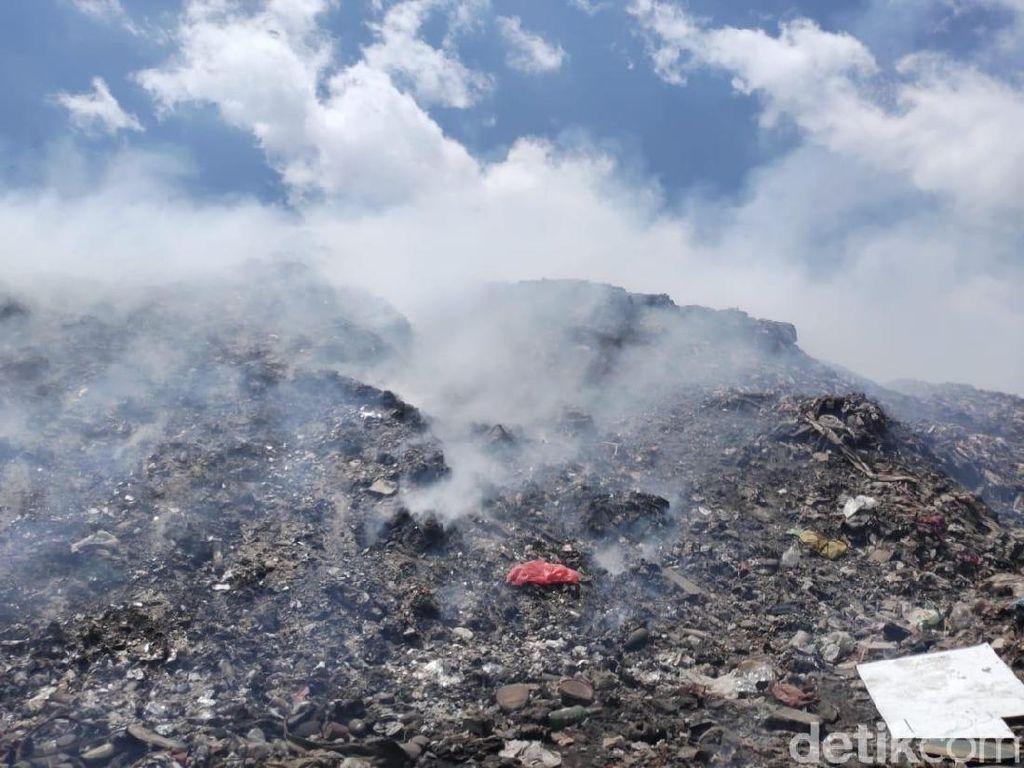 TPA Antang Makassar Kebakaran Lagi