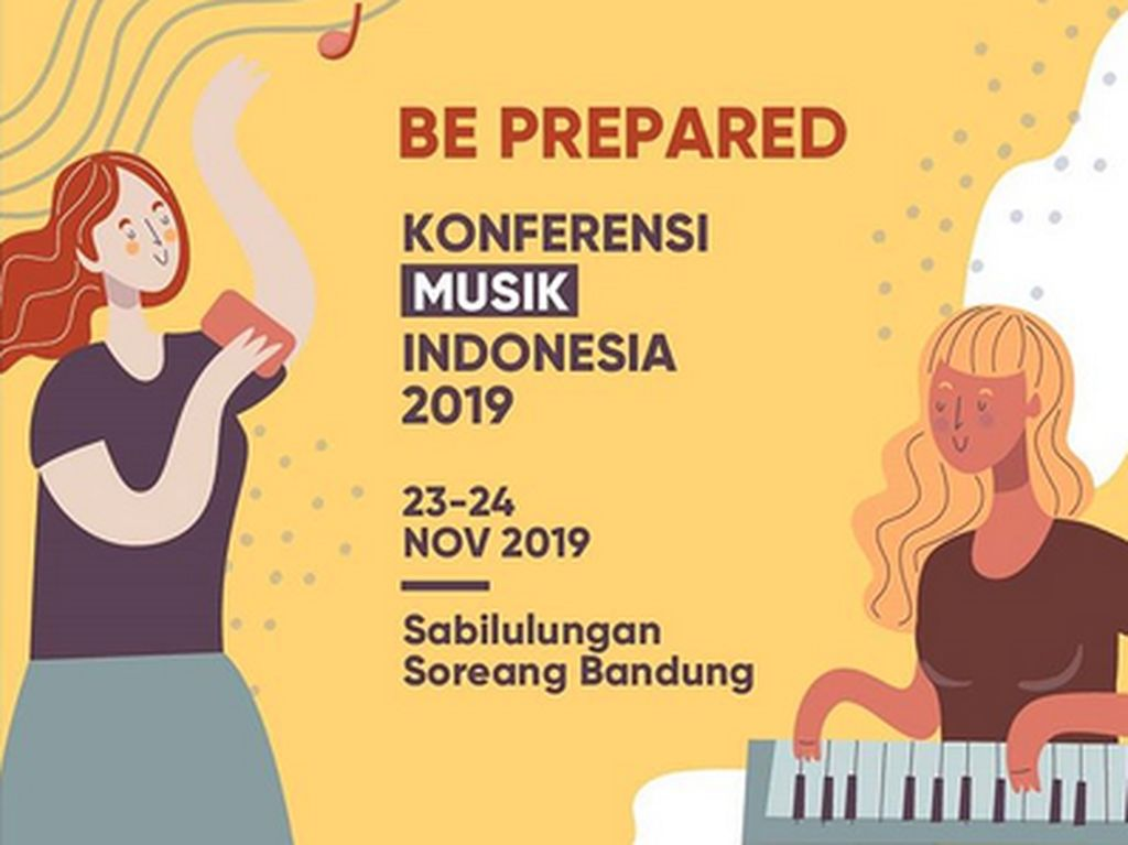 Konferensi Musik Indonesia 2019 Digelar di Bandung