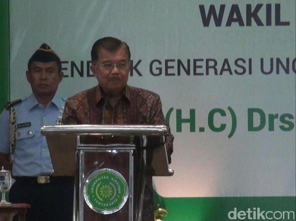 Pesan Ketum PP Muhammadiyah untuk JK yang Akan Pensiun dari Wapres