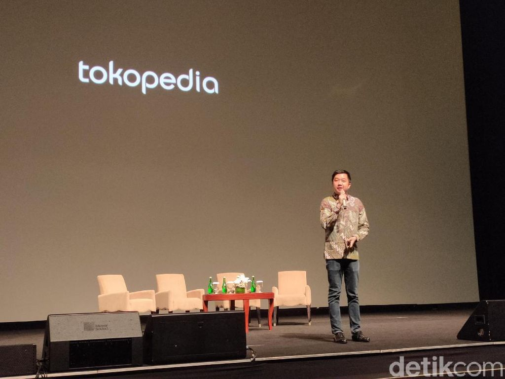 William Tanuwijaya Blak-blakan Soal Google Beli Saham Tokopedia