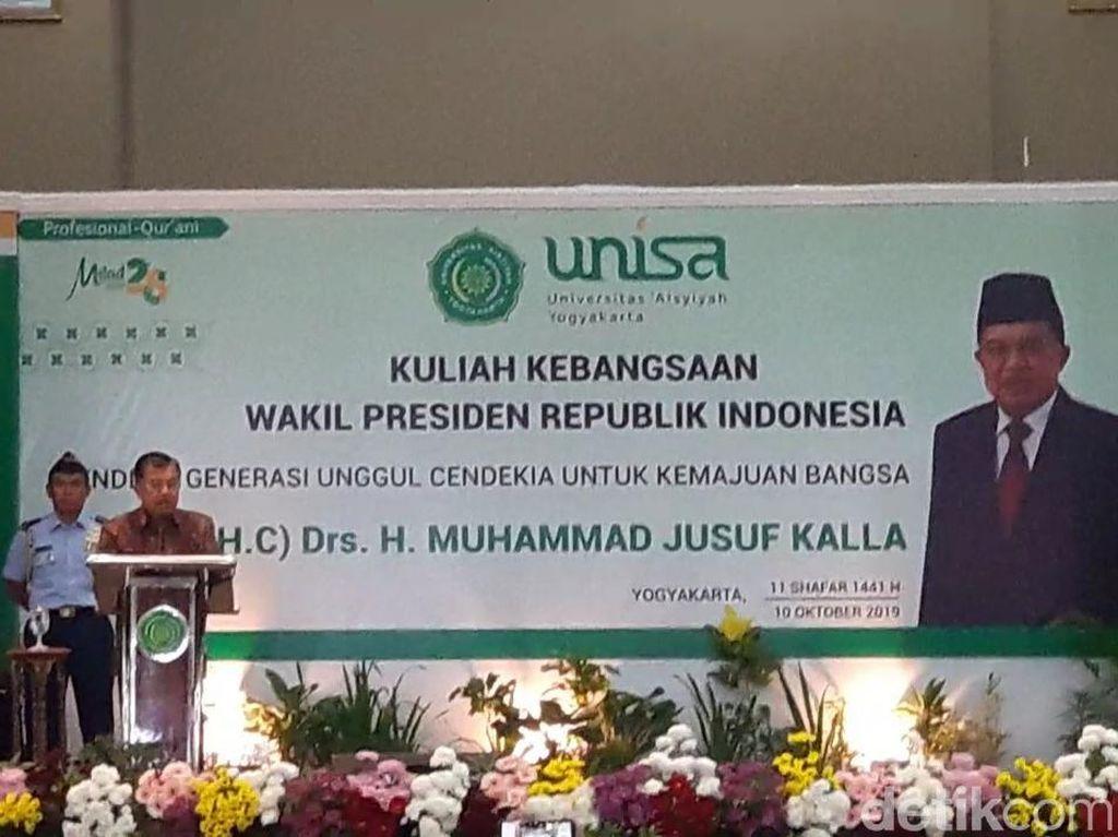 Seperti Ini Model Ideal Pendidikan Indonesia Masa Depan Menurut JK